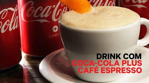 Drink Com Coca-cola Plus Café Espresso