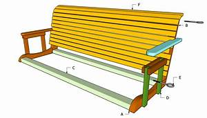 Free Plans For Porch Swings : Diy Guide To Adirondack