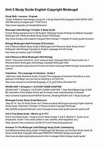 Unit 4 Resource Book Mcdougal Littell Biology Chapter 10