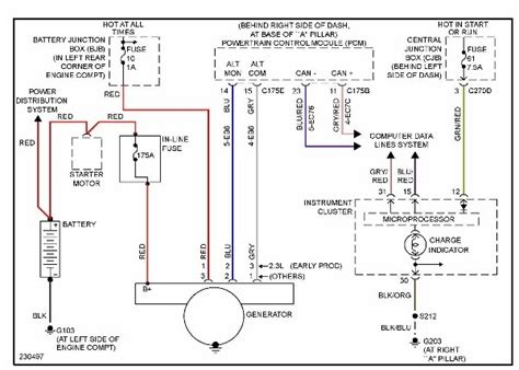 2001 ford focus alternator wiring diagram 2001 ford focus alternator wiring diagram wiring diagram