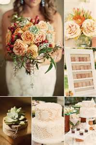 vintage wedding colors 9 gorgeous wedding color palettes for autumn onewed