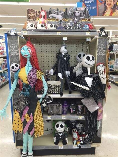 walgreens display  tim burton sally nightmare
