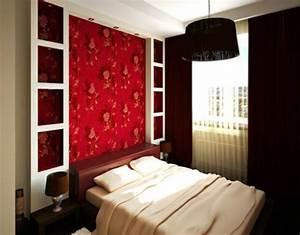 Tapeten im schlafzimmer ideen das beste aus wohndesign for Tapeten farben ideen