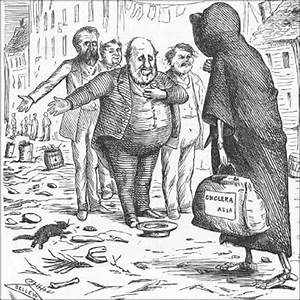 """Boss Tweed and his politically corrupt machine, """"welcoming ..."""
