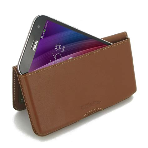asus zenfone zoom wallet pouch brown pdair sleeve