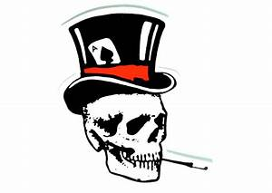 Skulls With Top Hats - ClipArt Best