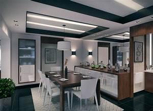 deco cuisine ouverte sur salle a manger exemples d With deco cuisine salle a manger