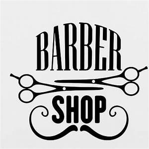 Aliexpress com : Buy Barbershop Vinyl Wall Decal Sticker