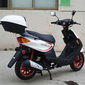 150cc Moped Scooter Razor 150 White With New Design Sporty