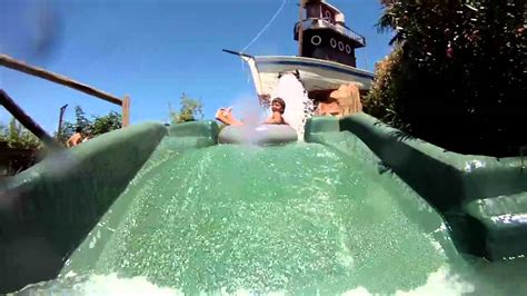 aqua park  gardasee canevaworld youtube