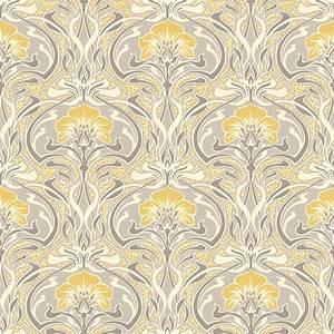 Crown Flora Nouveau Wallpaper M1195