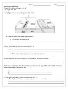 collection of ocean floor diagram worksheet cockpito