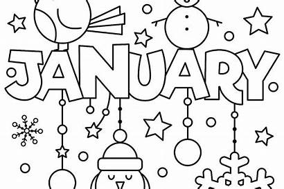 Coloring January Pages Printable Fun Welcome 30seconds
