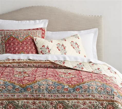 Pottery Barn Coverlets by Zarina Print Reversible Quilt Sham In 2019 Bedroom