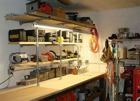 build  ultimate bachelor pad  industrial pipe