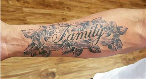 Adorable Family Tattoo Ink Ideas For Men