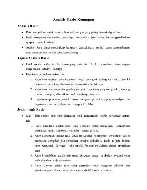 Analisis Laporan Keuangan PT. Harum Energy Tbk.