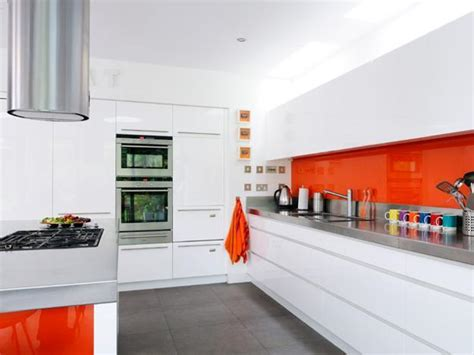 colorful kitchens ideas orange kitchen colors 20 modern kitchen design and
