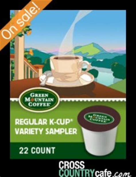 0 calories, nutrition grade (a minus), problematic ingredients, and more. Green Mountain Regular Variety Sampler Coffee Keurig K ...