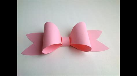 paper decoration easy paper bow  gift box decoration