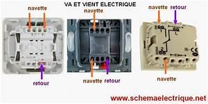 Cabler Un Va Et Vient : schema electrique branchement cablage schema branchement cablage interrupteur va et vient ~ Voncanada.com Idées de Décoration