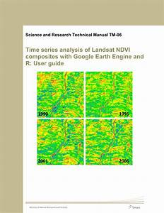 Pdf  Time Series Analysis Of Landsat Ndvi Composites With