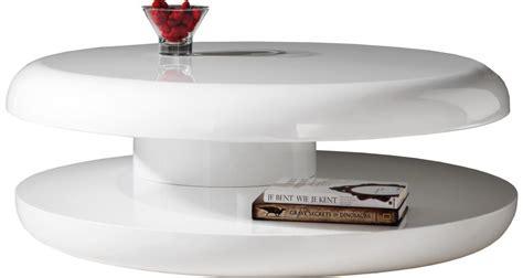 table basse ronde design pas cher table basse design ronde laque blanche plateau tournant destock meubles ventes pas cher