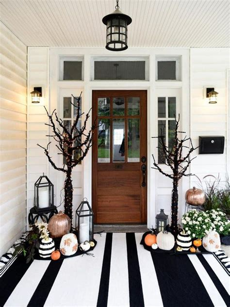 halloween front porch decor ideas