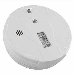 Kidde Battery Operated Ionization Smoke Alarm With Safety