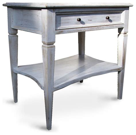 whitewashed coffee and end tables oxford 1 drawer side table white wash tropical side