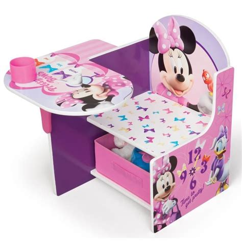bureau bebe fille minnie pupitre enfant achat vente bureau bébé enfant