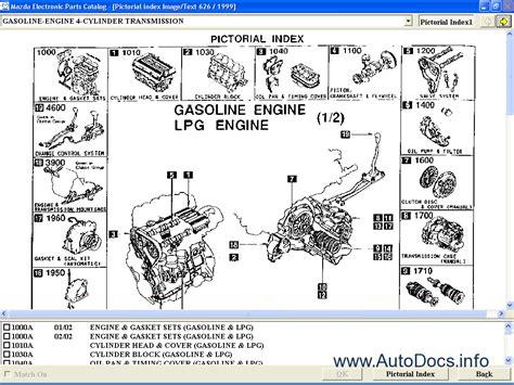mazda europe lhd  parts catalog order