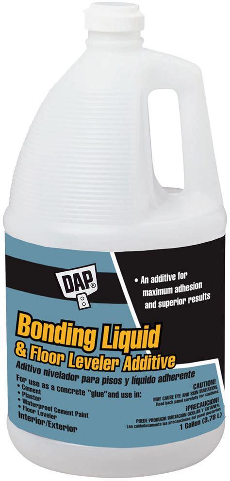 Bonding Liquid & Floor Leveler Additive   DAP