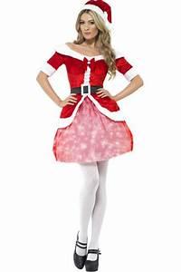 Déguisement Mère Noel Femme : costume m re no l lumineux d guisement adulte no l le ~ Melissatoandfro.com Idées de Décoration