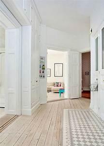 le parquet blanchi pour une deco 100 scandinave marie With parquet tendance