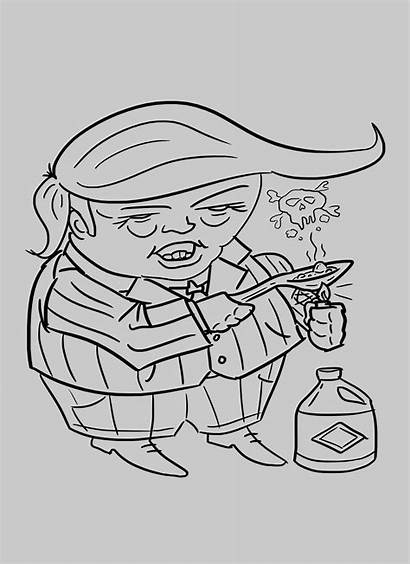 Trump Lysol Disinfectant Heating Someone Draw Could