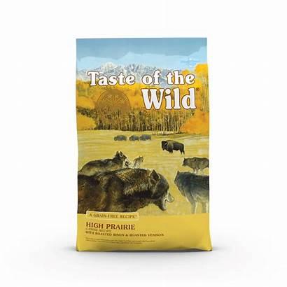 Taste Wild Prairie Dog Bison Venison Roasted