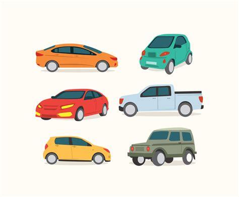 Various Cars Vector Vector Art & Graphics