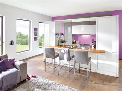 cuisine ouverte salon petit espace cuisine ouverte sur le salon les meilleures solutions