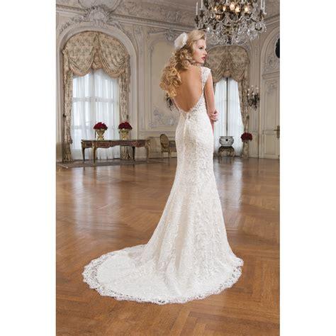 Justin Alexander 8761 Lace Low Back Wedding Dress