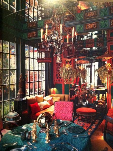 tony duquette beautifully bizarre maximalist decor