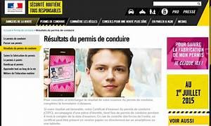 Permis Conduire En Ligne : r sultats du permis en ligne ~ Medecine-chirurgie-esthetiques.com Avis de Voitures