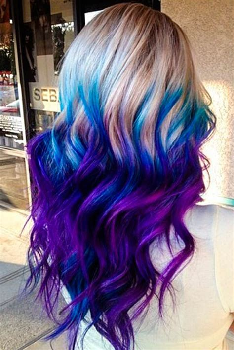 Hair And Blue by 25 Best Ideas About Peekaboo Hair Colors On