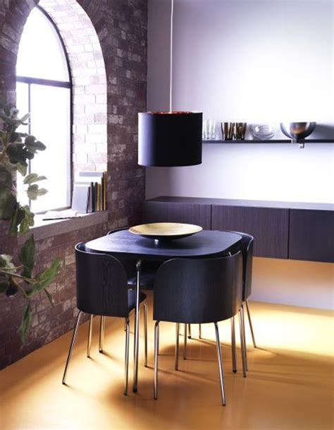 black fusion dining tables