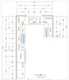 l shaped kitchen layout with perpendicular dishwasher