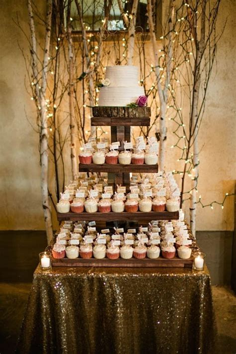 Best 25 Rustic Cupcake Display Ideas On Pinterest