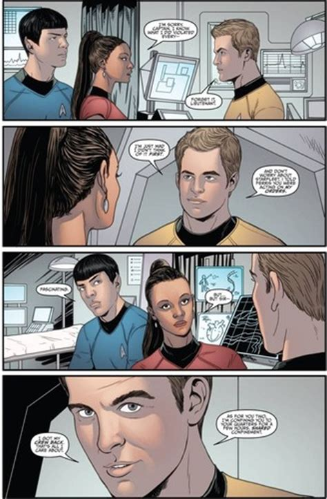 anime movie ongoing spock uhura images star trek ongoing 4 spoilers hd