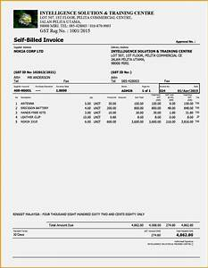 gst bill sample excel invoice template letter kukkoblock With gst invoice format in excel