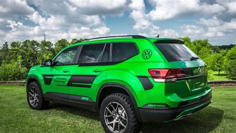 vw atlas lifted  hp performance suv review