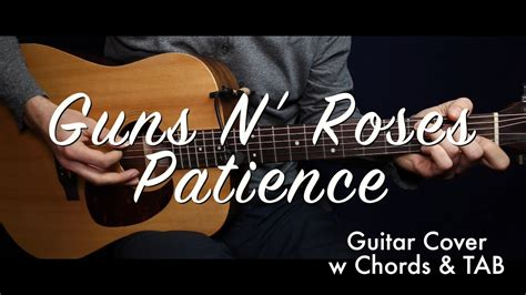 Patience (chords) Guitar Cover/guitar